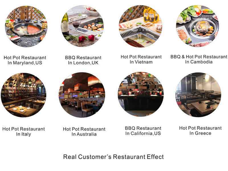 CENHOT real customers'restaurant effect