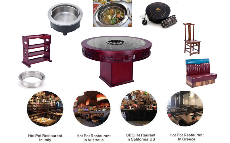 CENHOT company provide the best hot pot and bbq equipment for restaurant owners