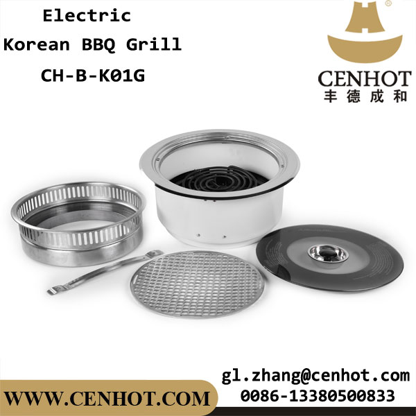 CENHOT Smokeless Korean Barbecue Restaurant Grill For Sale China