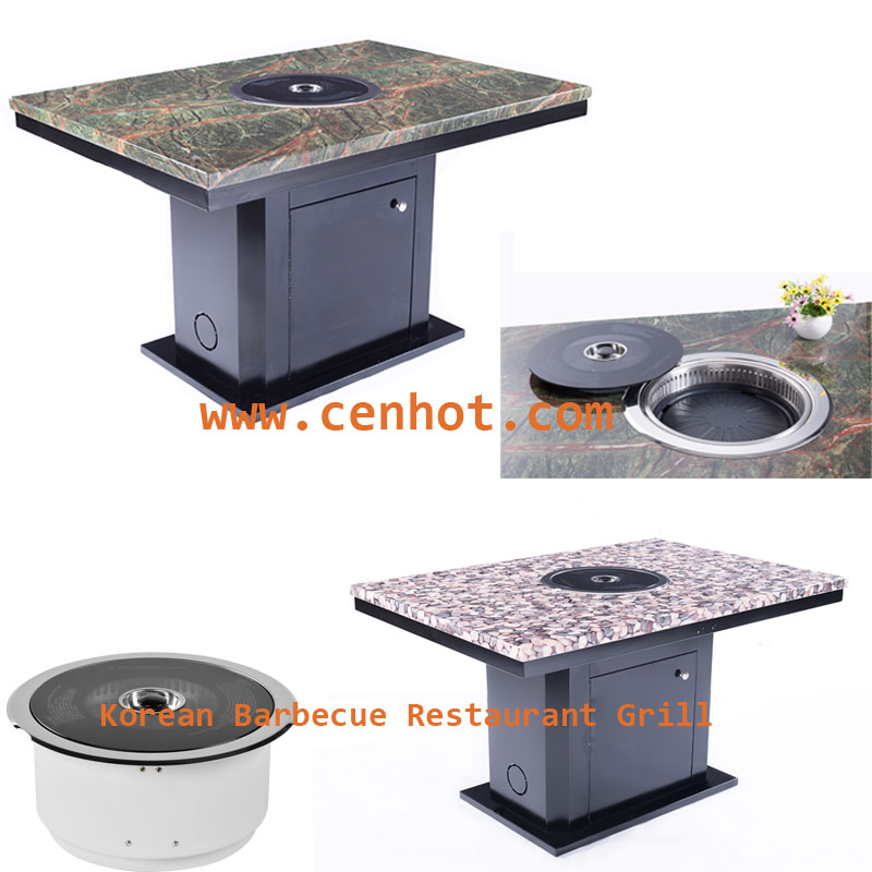 CENHOT Smokeless Korean Barbecue Restaurant Grill is your best choice.