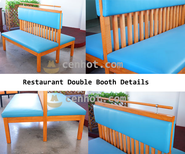 Restaurant Double Booth details - CENHOT
